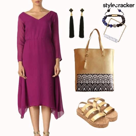 Beach Vibes Comfy Kaftan Dress Loosefit  - StyleCracker