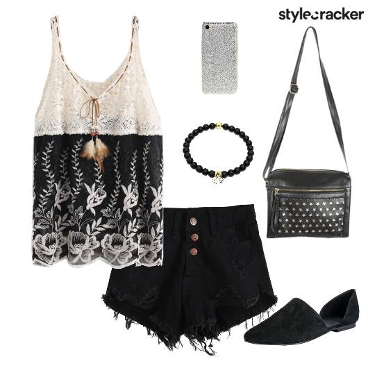 Top Shorts Shoes Bag Casual - StyleCracker