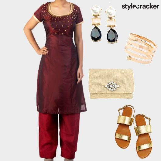 Pants Kurta Indian  - StyleCracker
