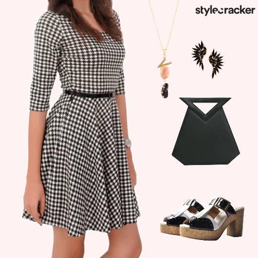 Houndstooth Dress Oxfords - StyleCracker