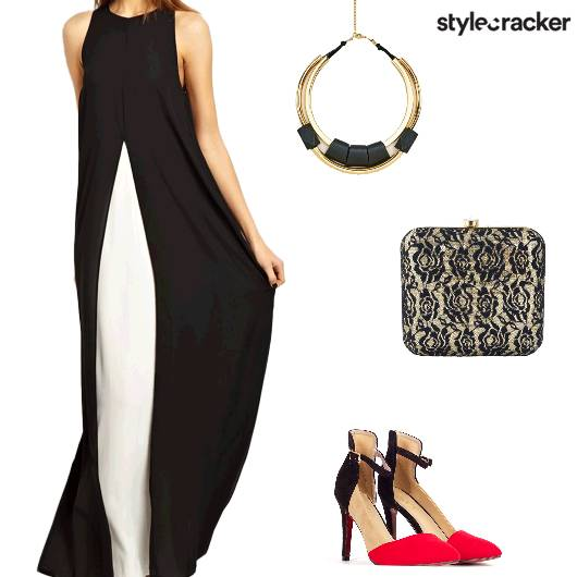 Party Layered MaxiDress - StyleCracker