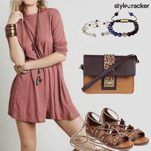 Basic Dress Tieup Flats Weekender Comfy  - StyleCracker