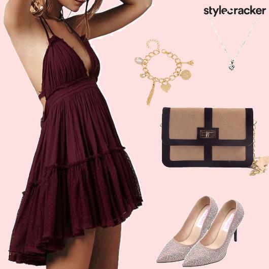 Night Party BacklessDress - StyleCracker