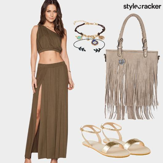 Olive Twinset Day Brunch  - StyleCracker