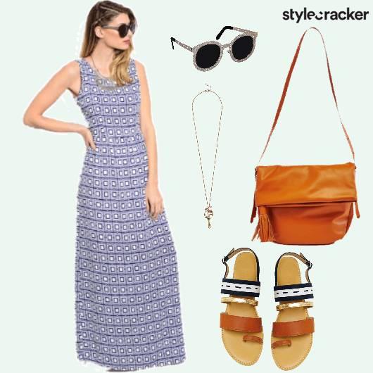 Printed Maxi Comfydays Summer  - StyleCracker