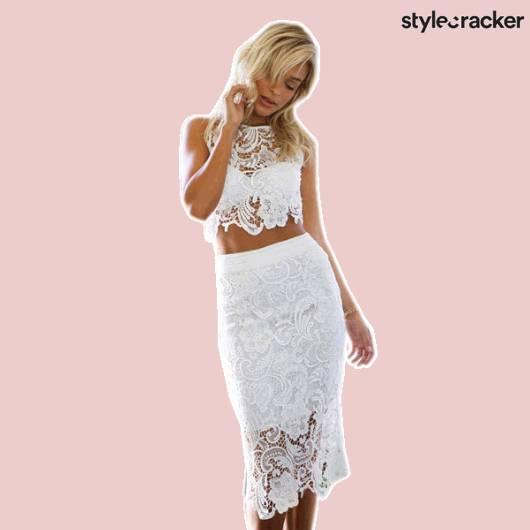 SCLoves CropTop Skirt - StyleCracker