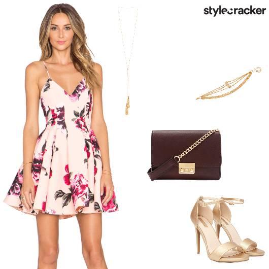 Brunch Floral Dress Strappydress - StyleCracker