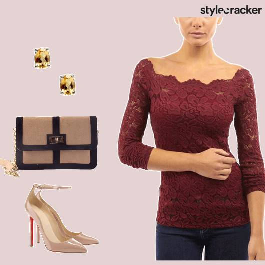 Lunch Formal LaceTop - StyleCracker