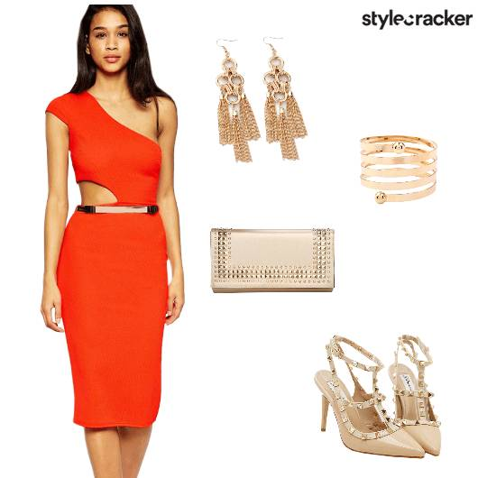 Party Bright Bodycon Cutout - StyleCracker