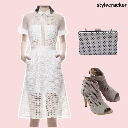Dress Clutch Footwear Cutwork - StyleCracker