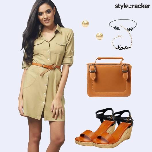 CafeCoffeeDay Wedges Dress Casual  - StyleCracker