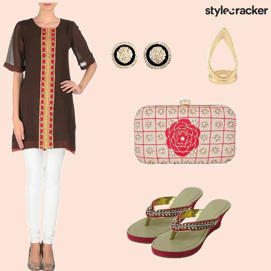 Casual Kurtaset Clutch Wedges - StyleCracker