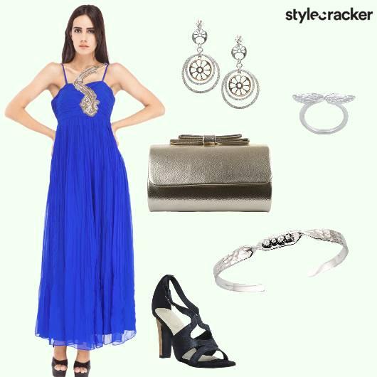 Gown Heels Cuff Earrings  - StyleCracker
