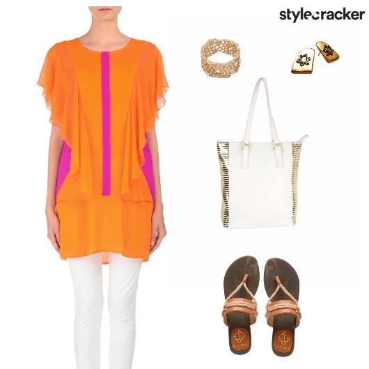 Casual Bright Kurta - StyleCracker