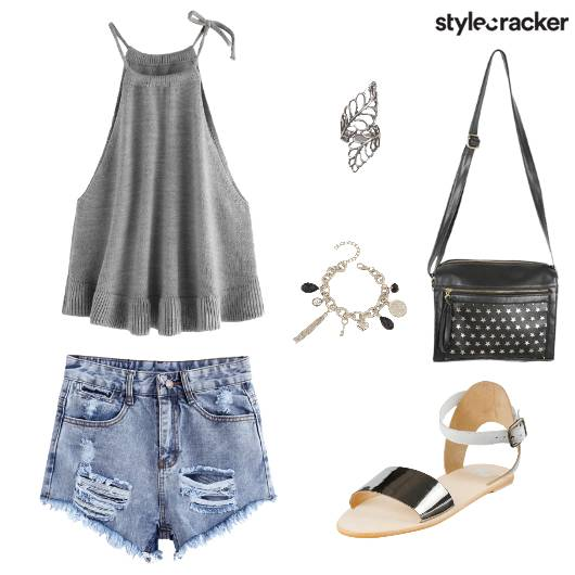 CamiTop Shorts BarbacueBrunch - StyleCracker