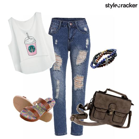 College Ripped Jeans Casual - StyleCracker