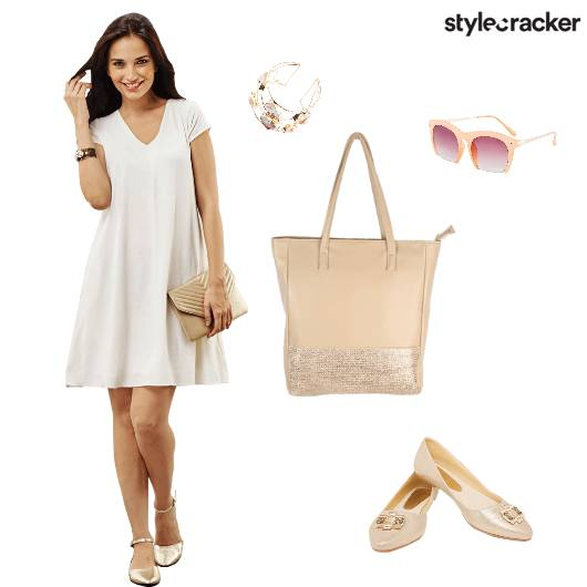 White Daydress Brunch Party - StyleCracker