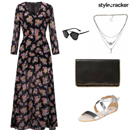 DarkFlorals PoolParty  - StyleCracker