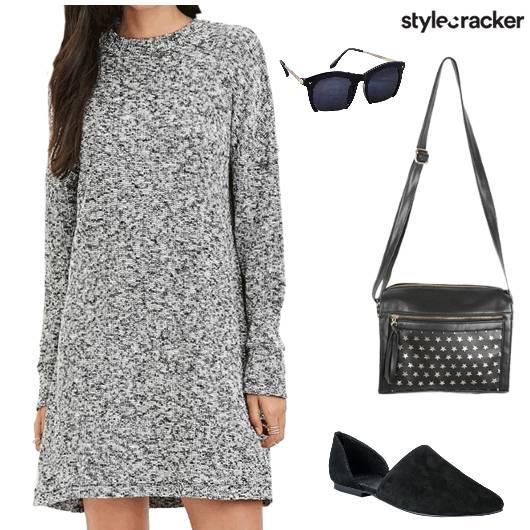 Casual Daydress Streetstyle - StyleCracker