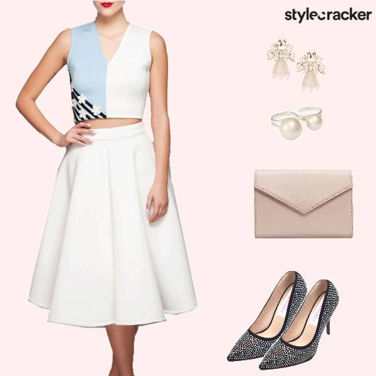 Croptop Skirt EnvelopeClutch - StyleCracker