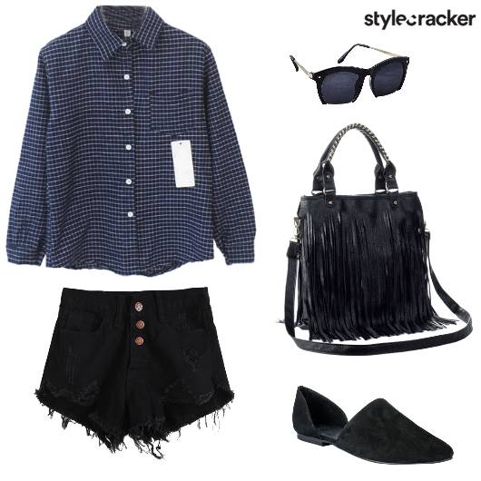 Casual College Ripped Laidback - StyleCracker