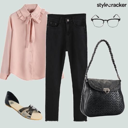 Formal Pussybowblouse Workwear  - StyleCracker
