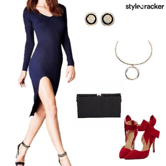Bodycondress Heels Party Evening - StyleCracker