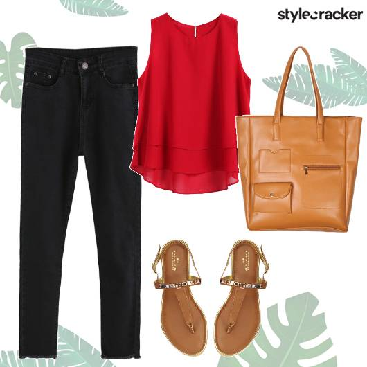 Casual Basics SummerFresh Tote  - StyleCracker
