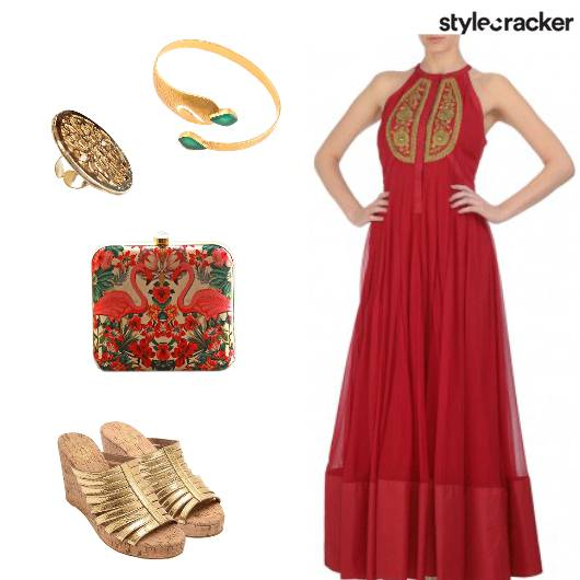 Ethnic Indian Anarkali - StyleCracker