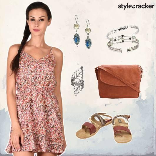 Floral Dress Casual Beach Summer - StyleCracker
