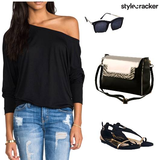 Casual Weekend Tee Laidback - StyleCracker