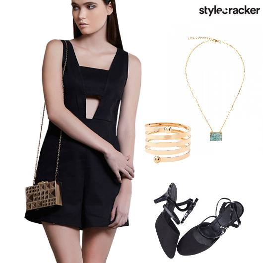 Jumpsuit NightOut Dinner  - StyleCracker