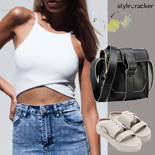 Casual CropTop Weekend Party - StyleCracker
