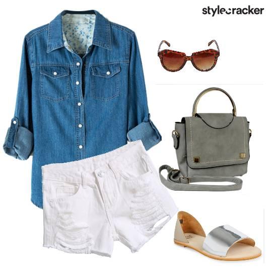 Casual Weekend Ripped Shorts - StyleCracker