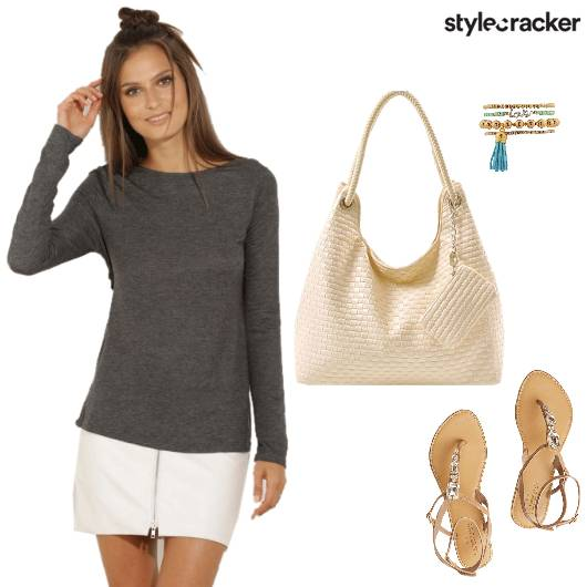 Casual Laidback OnTheGo Tee - StyleCracker