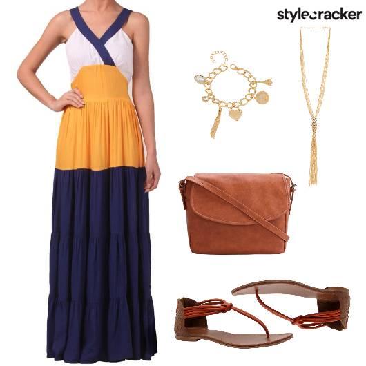 Maxi Dress Casual Brunch  - StyleCracker