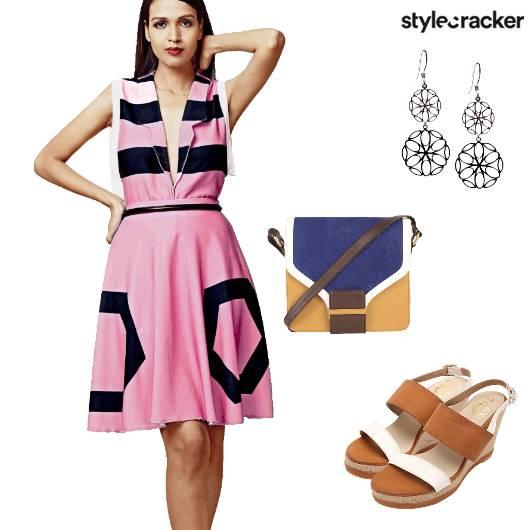 Dress Wedges SlingBag  - StyleCracker