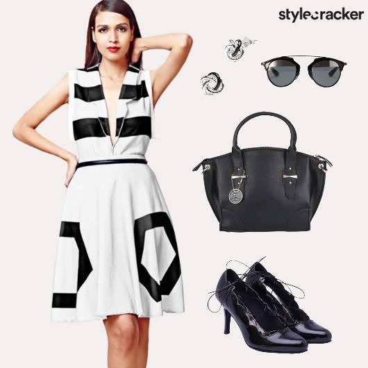 Workwear  Sunglasses Blazertop Monochrome - StyleCracker