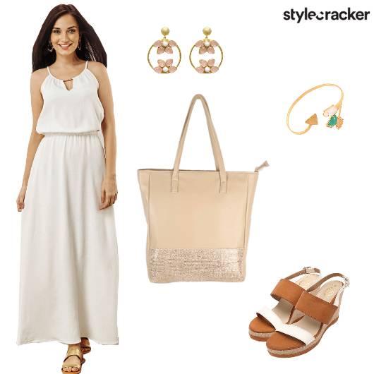 White Brunch Maxi Weekend - StyleCracker