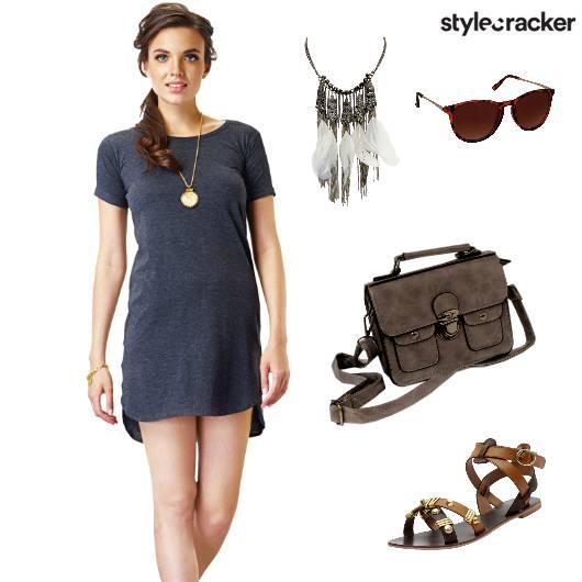 TshirtDress Casual OnTheGo Weekend - StyleCracker