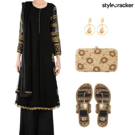 FestiveIndian Kurta PallazoPants - StyleCracker