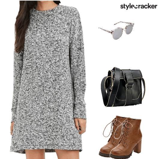 Dress Boots Laceup Crossbodybag Casual - StyleCracker