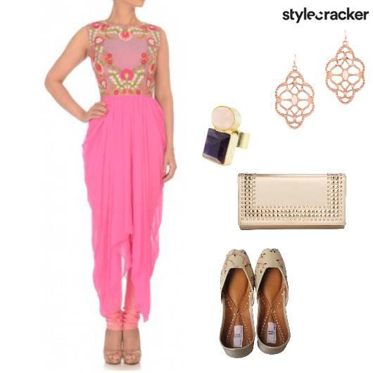 Suit Ethnic Juttis Clutch - StyleCracker