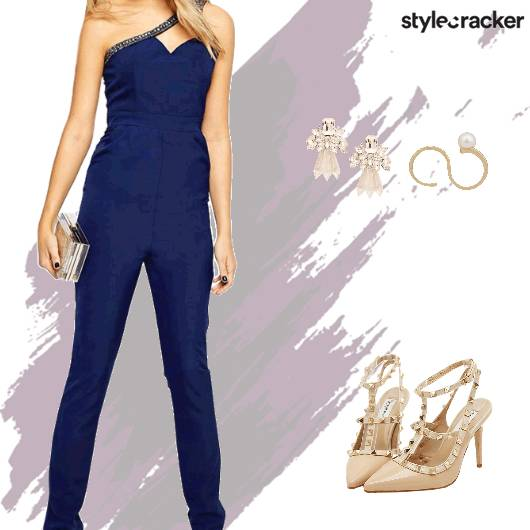 Night Party Jumpsuit - StyleCracker