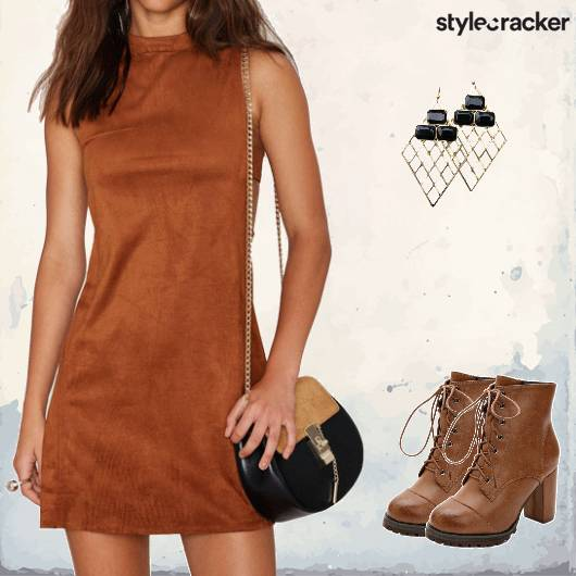 Casual SuedeDress TieUppBoots - StyleCracker