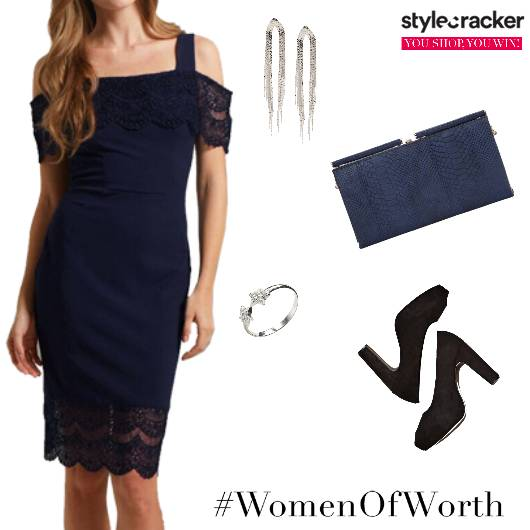 Women'sDay WomenOfWorth NightOut Party Lace - StyleCracker