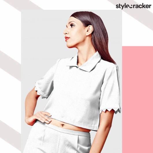 SCLOVES Collar Tops - StyleCracker