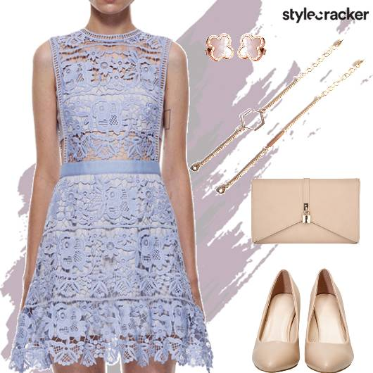 Lacedress Pumps Clutch Party - StyleCracker