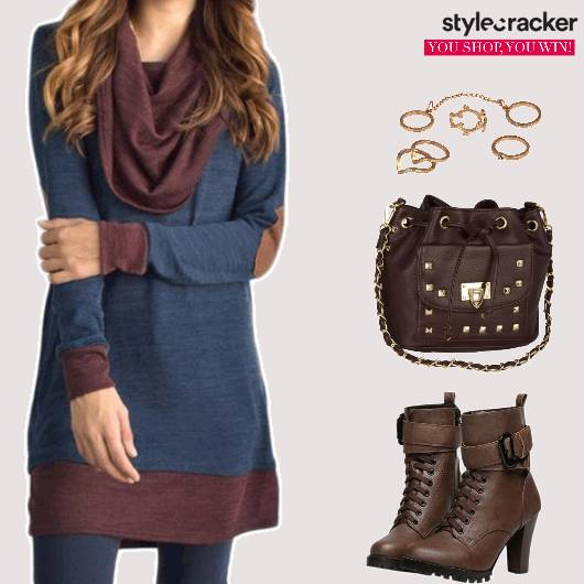 Casual College Boots BucketBag - StyleCracker