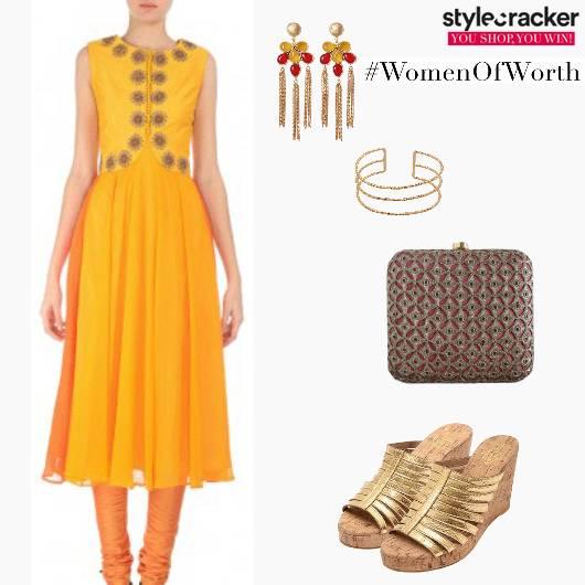 Festive EthnicIndian Anarkali - StyleCracker